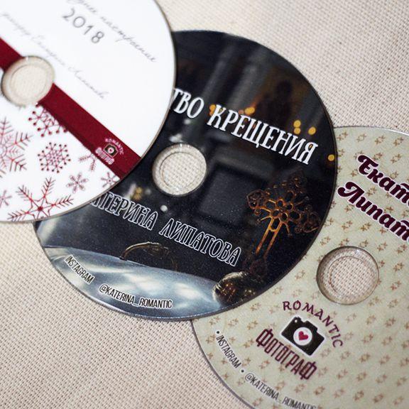 уф печать на dvd дисках