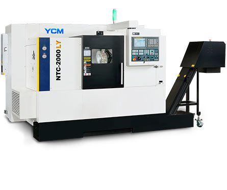 Токарно-фрезерный обрабатывающий центр YCM NTC-200LY с осью Y