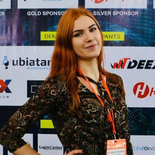 Ярослава Великая, ex-Smile Expo. Отзыв для Евгения Романенко, cryptoemcee.com