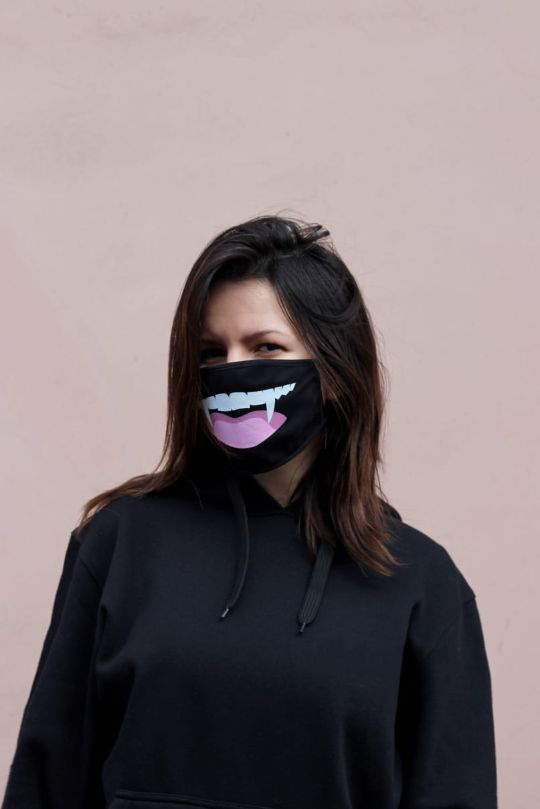 Продажа масок с принтами в розницу
