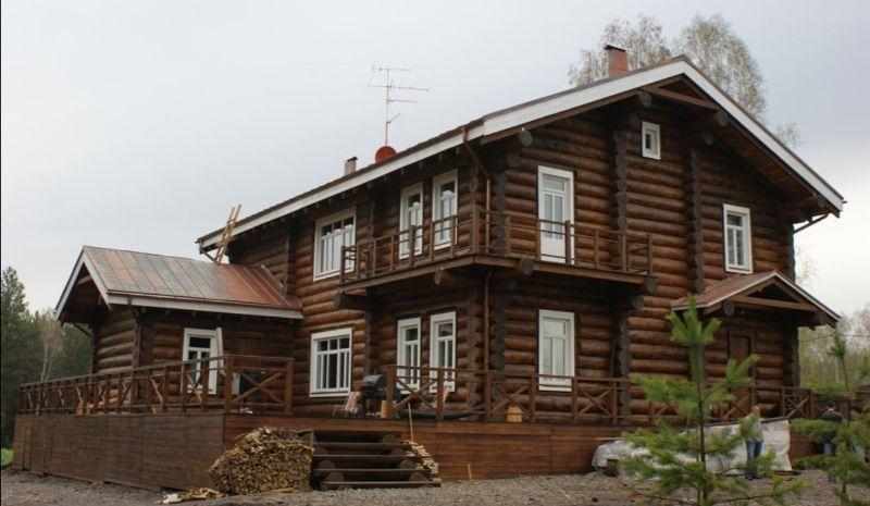 Деревянный жилой дом по индивидуальному проекту