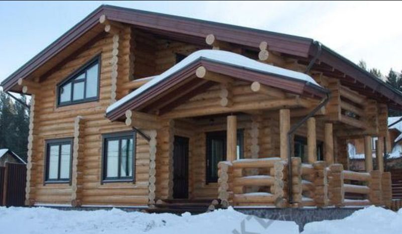 Жилой дом в Красноярском крае
