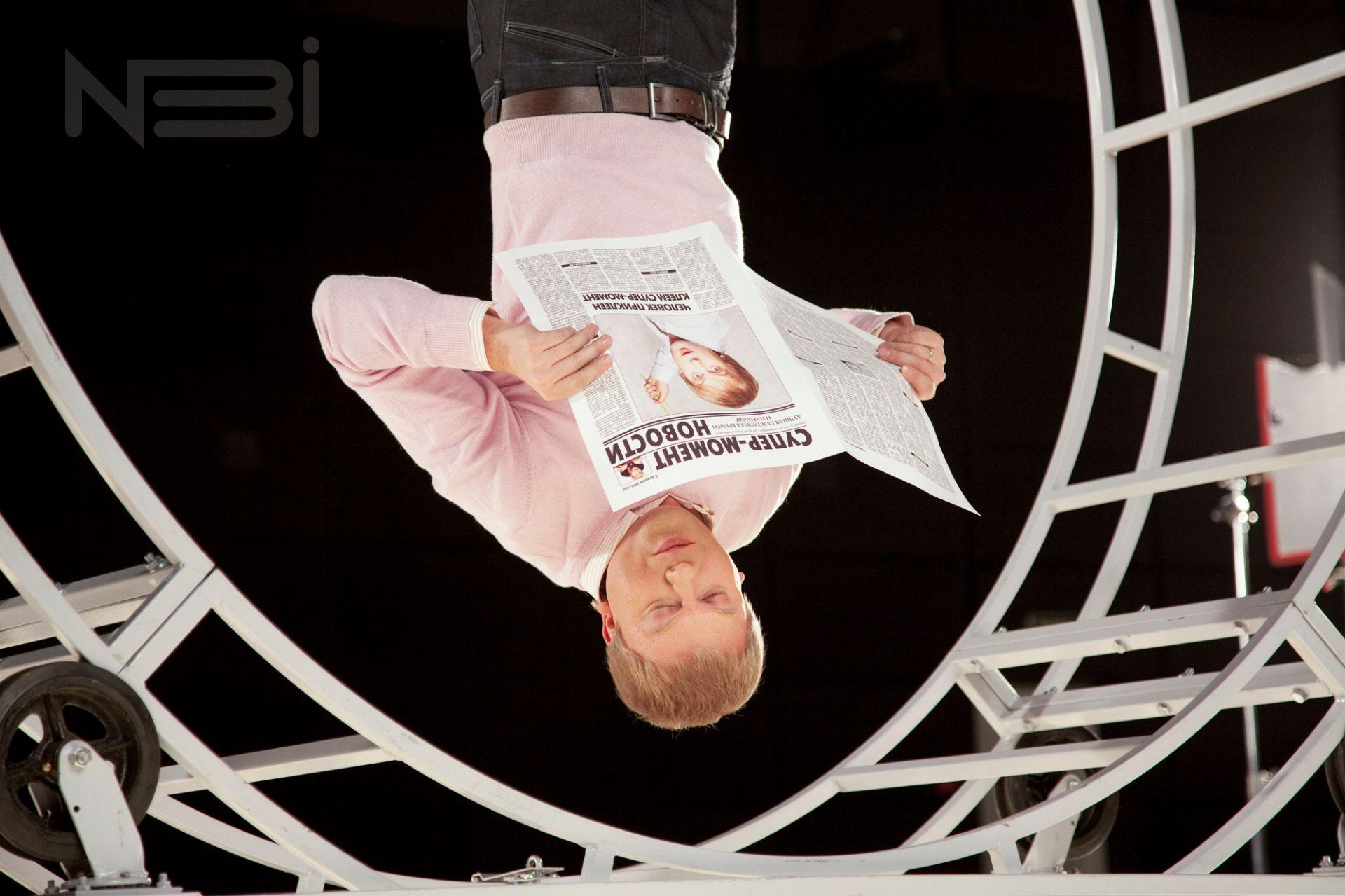 Фоторепортаж о рекламном ролике с Сергеем Светлаковым фотостудия нби
