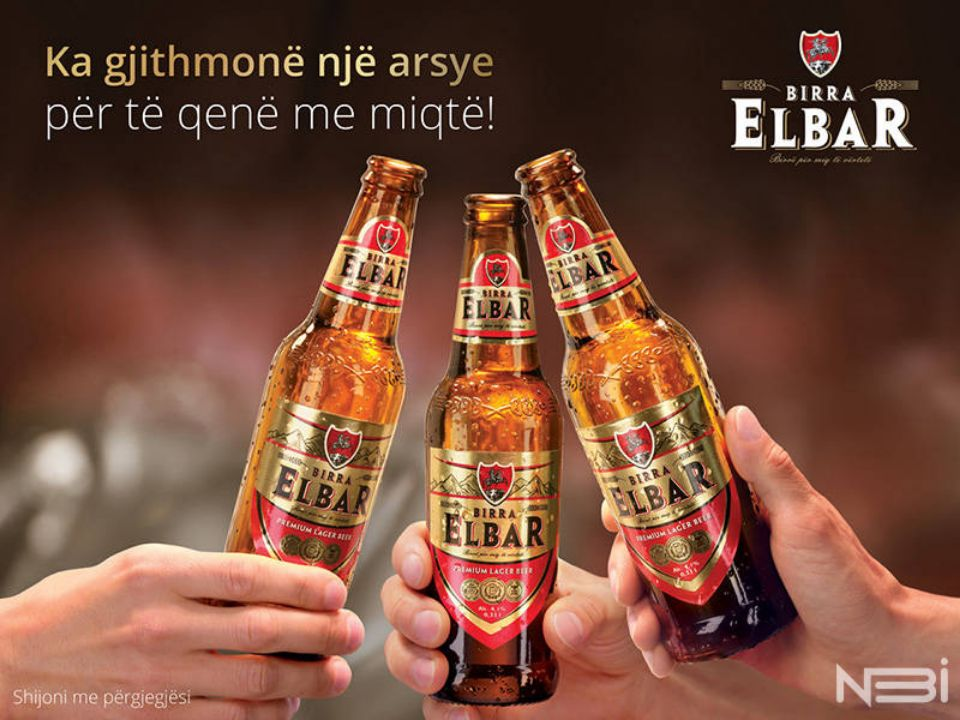 Имиджевая фотосъемка для пивного бренда Elbar