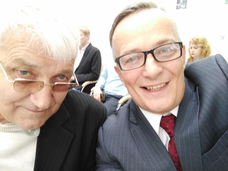 Александр Жуковский и Валерий Ефимов