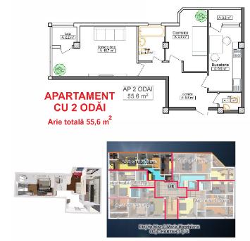 Apartament_cu_2 odăi