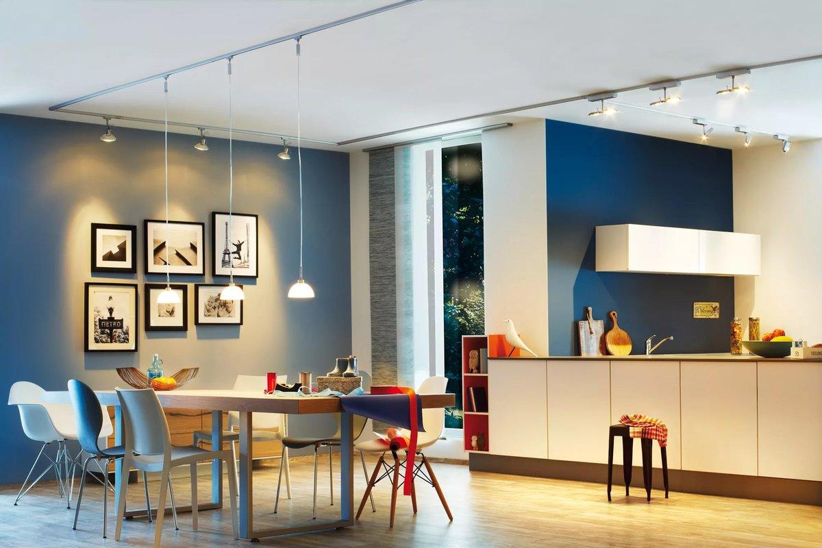 освещение в интерьере квартиры