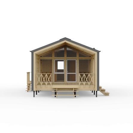 сборный дом барнхаус