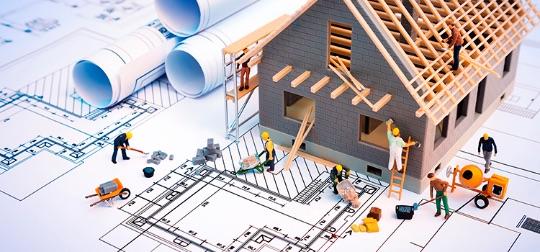 проведение строительных работ