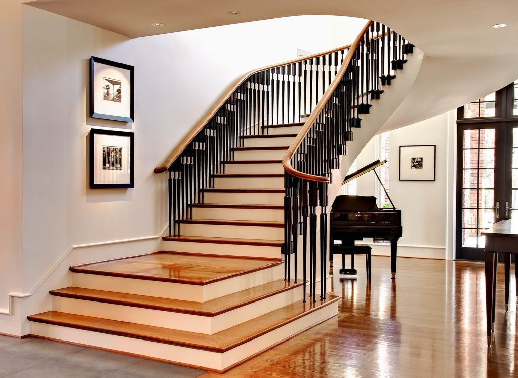 лестницы в интерьере квартиры
