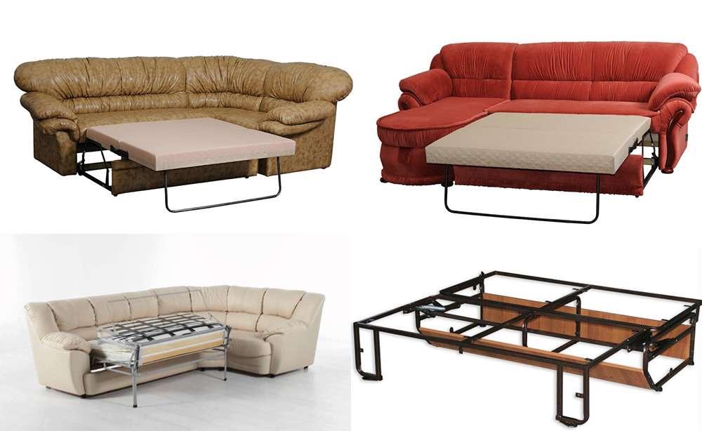 виды диванов в интерьере