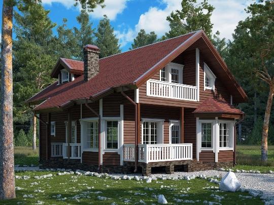 строительство финского дома москва
