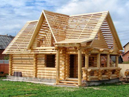 деревянные дома под ключ москва