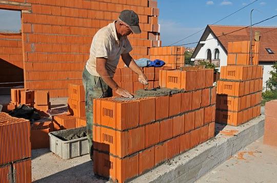 технология строительства кирпичного дома