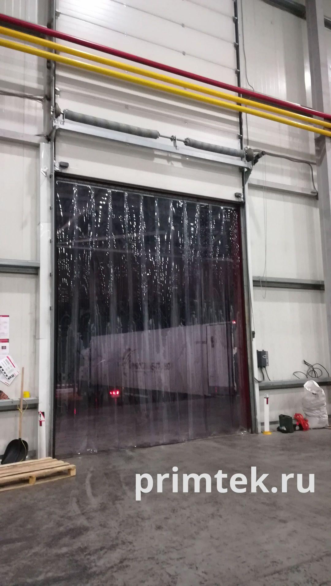 пвх завесы на секционные ворота