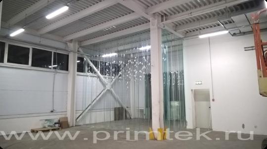 полосовые завесы для производственного помещения разделение на температурные зоны