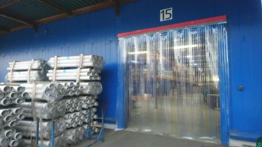 завесы ленточные для складов