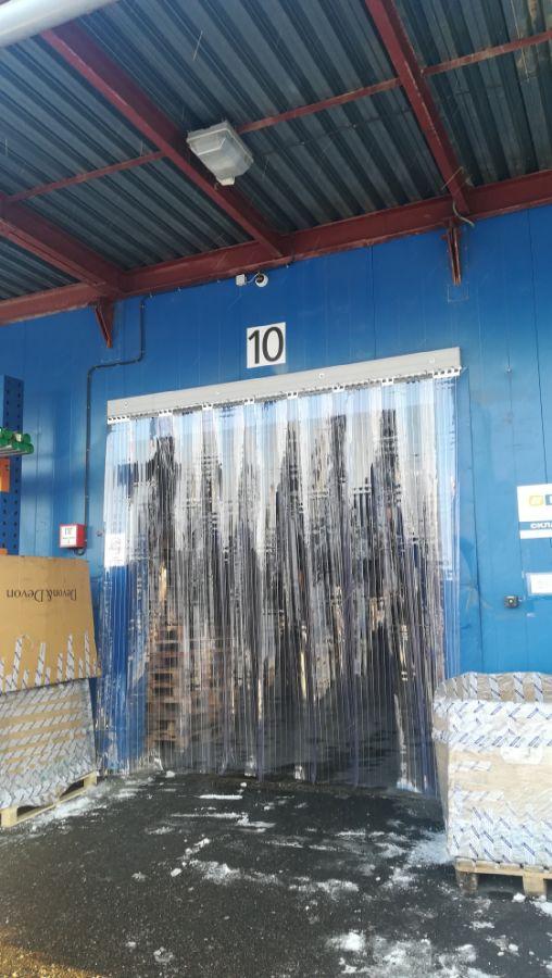 готовый заказ рифленых пвх завес