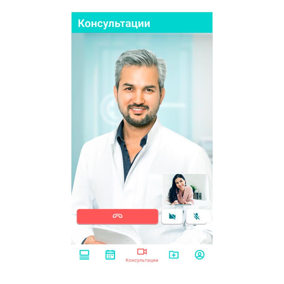 Консультируйтесь с врачами в формате видеосвязи