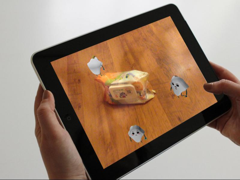 Мобильное приложение ЗетТек с модулем дополненной реальности