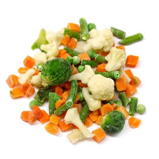 контроль качества замороженных овощей