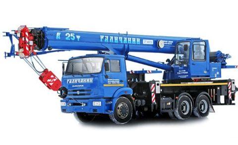 аренда автокран 25 тонн