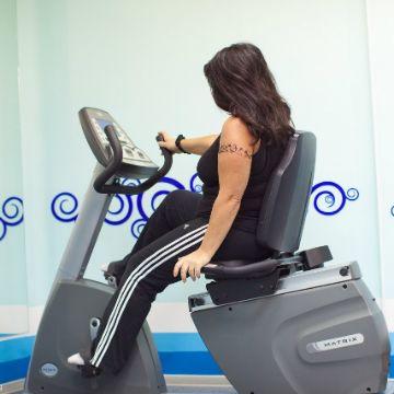 Тренировка на Велотренажер в Женском Фитнес центре Талия Клуб Оренбург