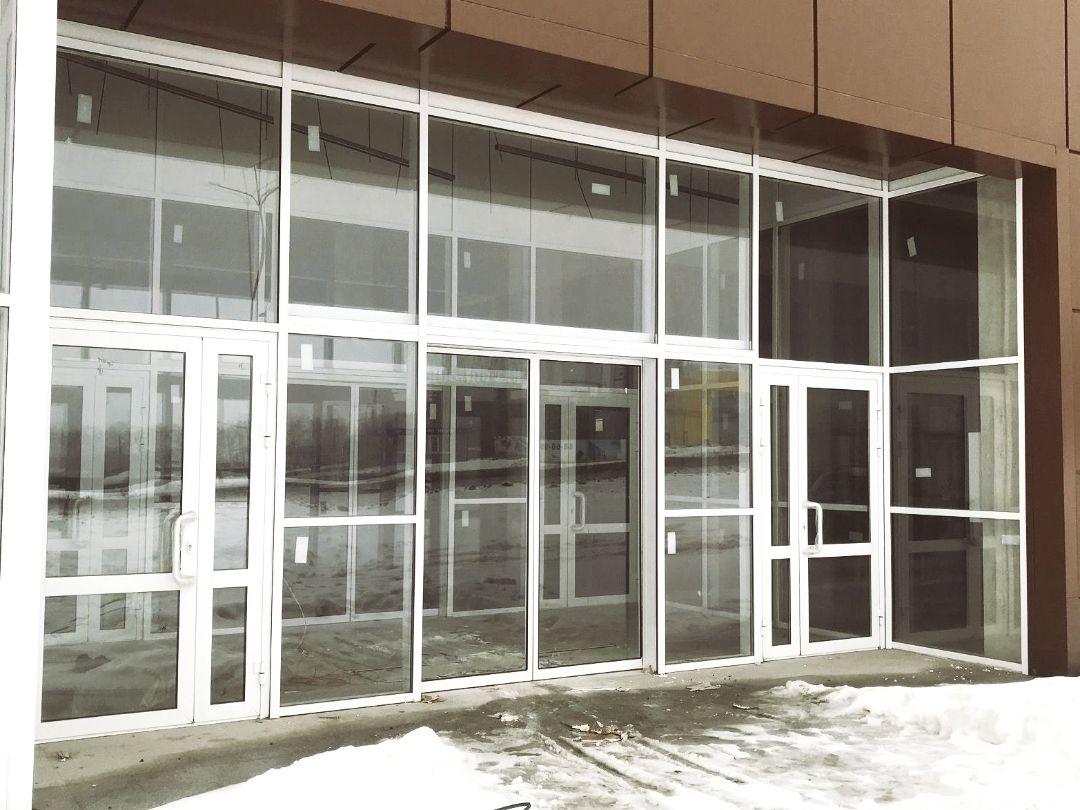 Алюминиевые витражи и окна ПВХ