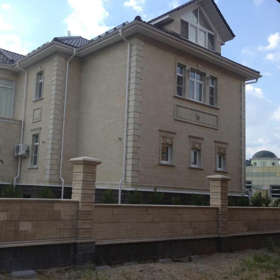 ул.Юровская в Куркино Бетонный забор Бастион