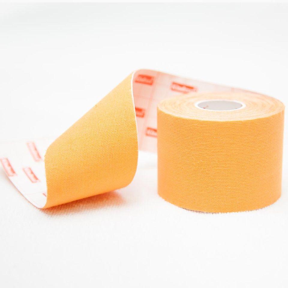 Кинезио тейп 100% хлопок Оранжевый - Kindmax - K50