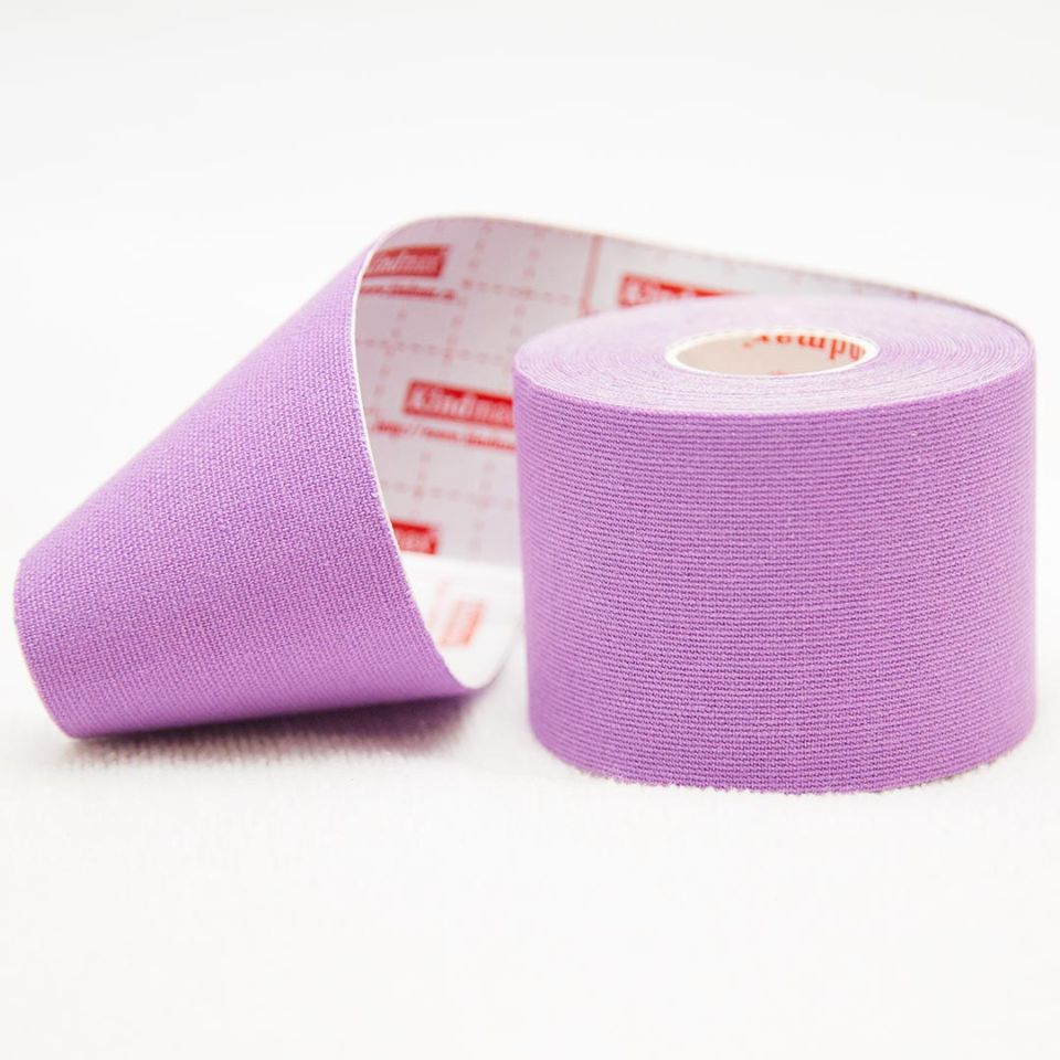 Кинезио тейп 100% хлопок Фиолетовый - Kindmax - K50
