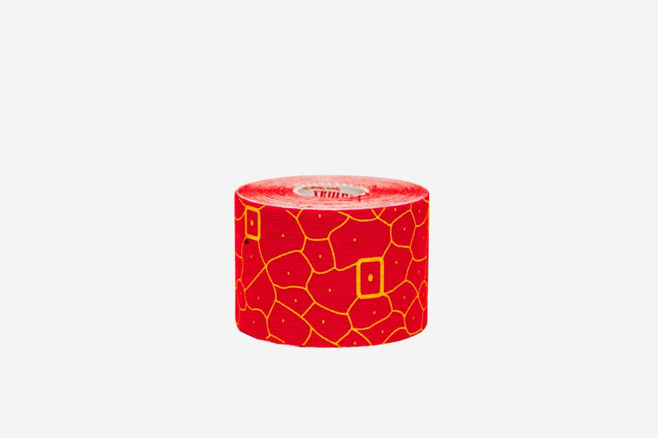 Красный\Желтый Кинезио тейп 100% хлопок