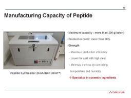 Особенности пептидных разработок CelliCon Lab
