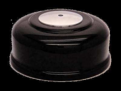 картинка Кнопка вызова (черная, под хром) от магазина