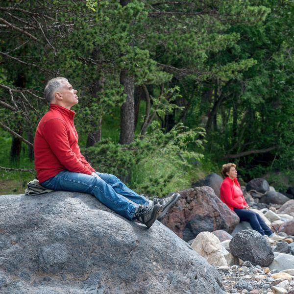 Единение с природой. Красивейшая река Баксан (когда спокойная!)
