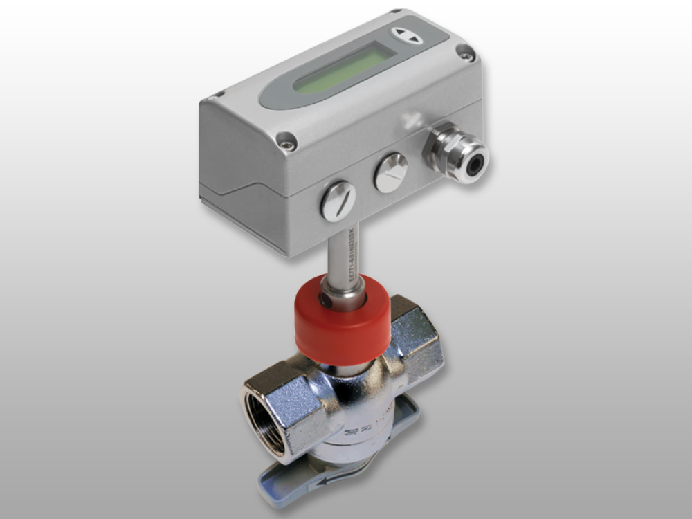 Расходомер с регулирующим шаровым клапаном для трубопроводов с диаметром DN15 - DN50