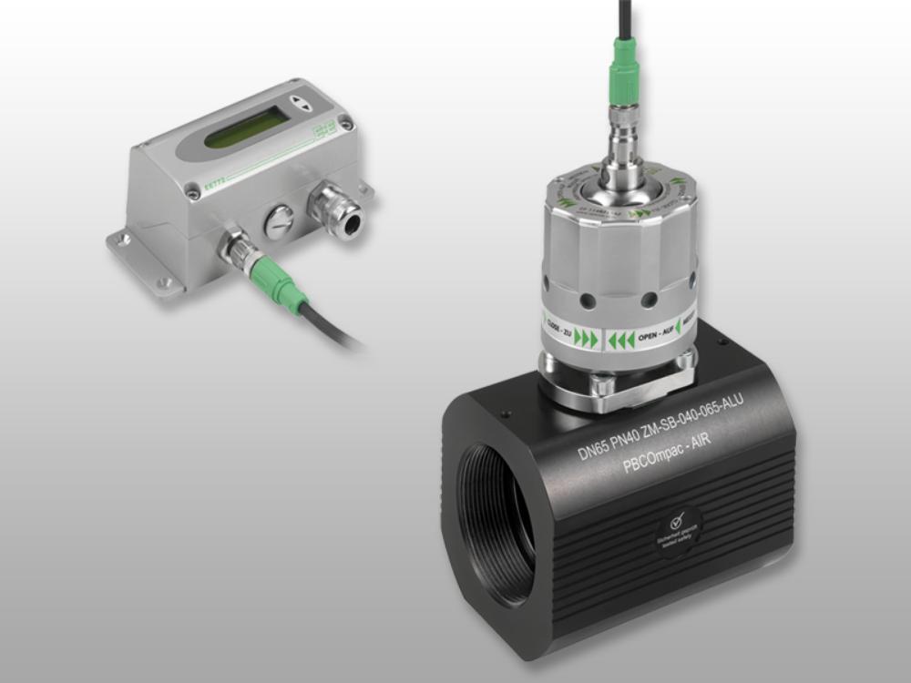 Расходомер с измерительным монтажным блоком для трубопроводов с диаметром DN40 - DN80