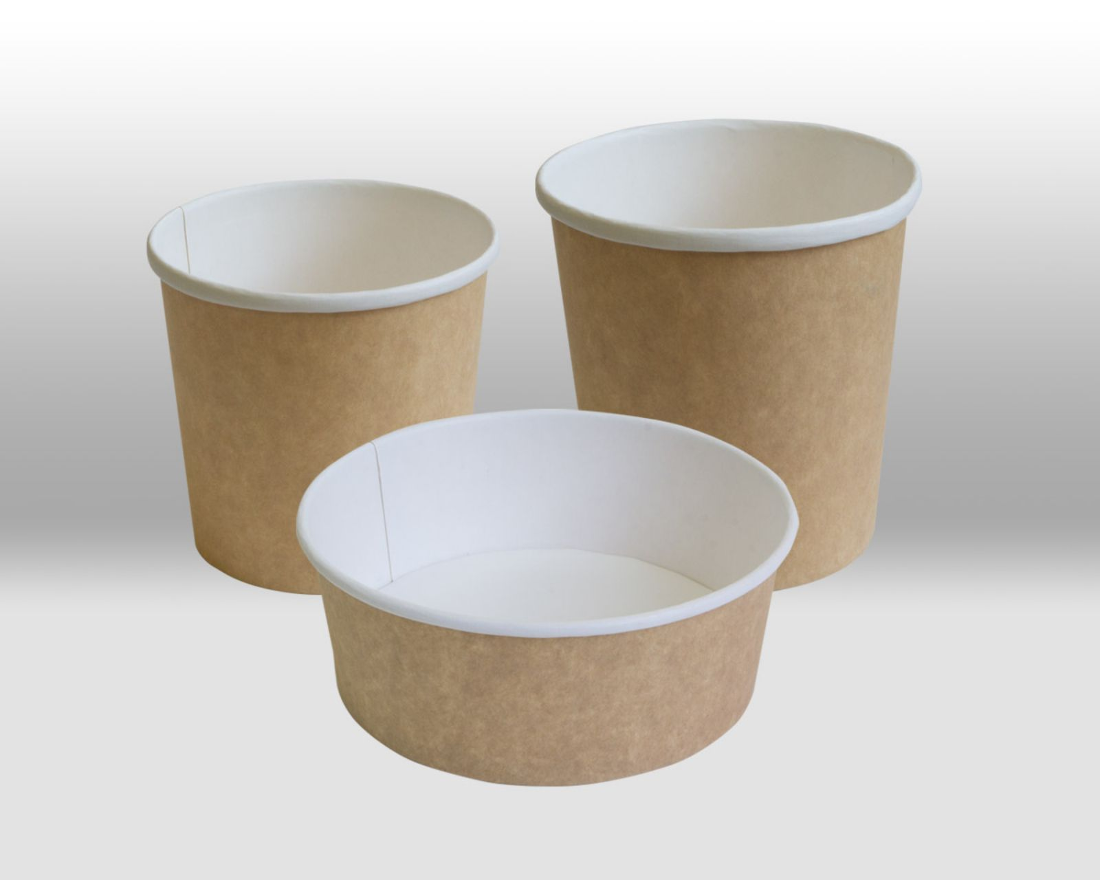 Kraft Paper Containers by Papperskopp