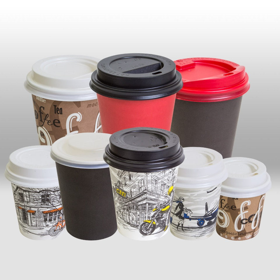 Lids for paper cups for hot beverages Papperskopp