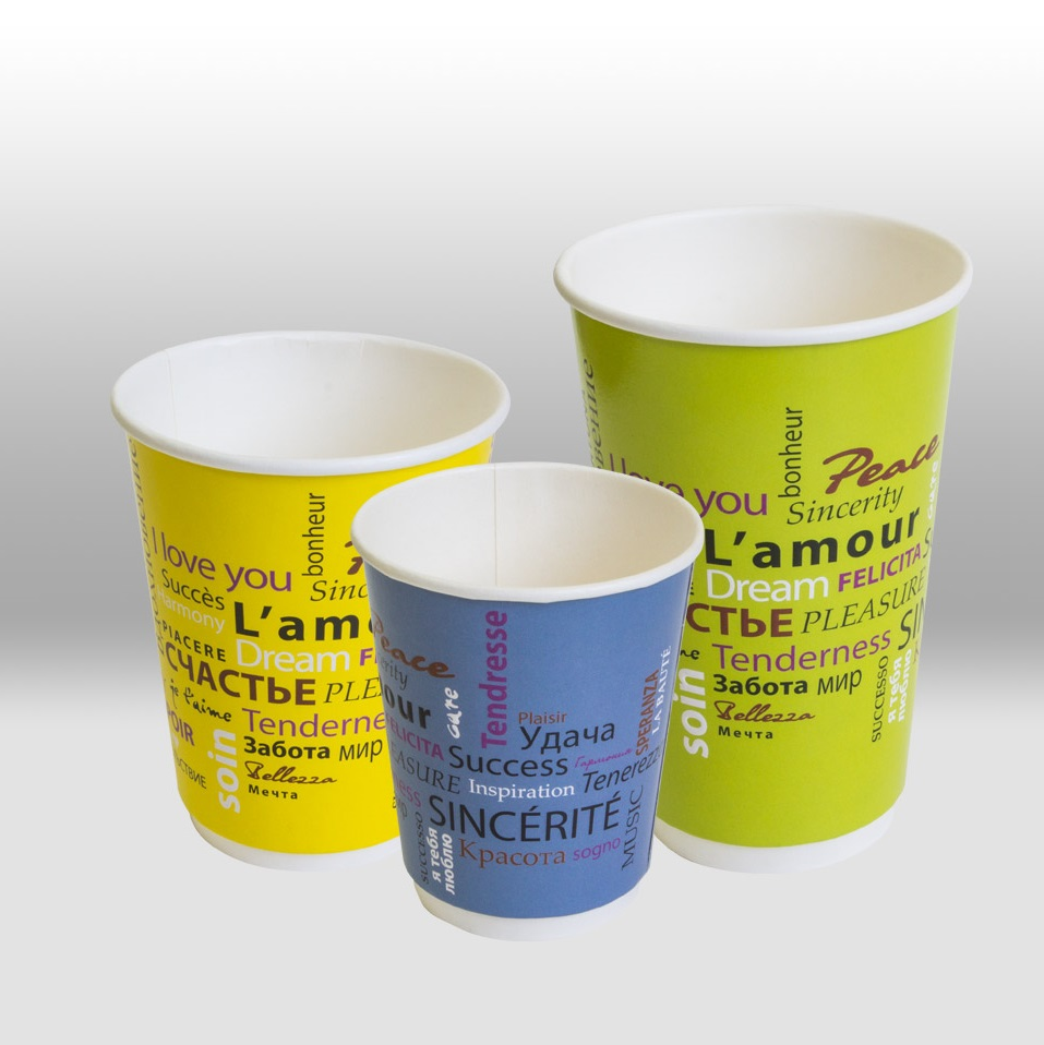 Double Wall paper cup for hot Beverages ThermoCup, Fiesta Papperskopp