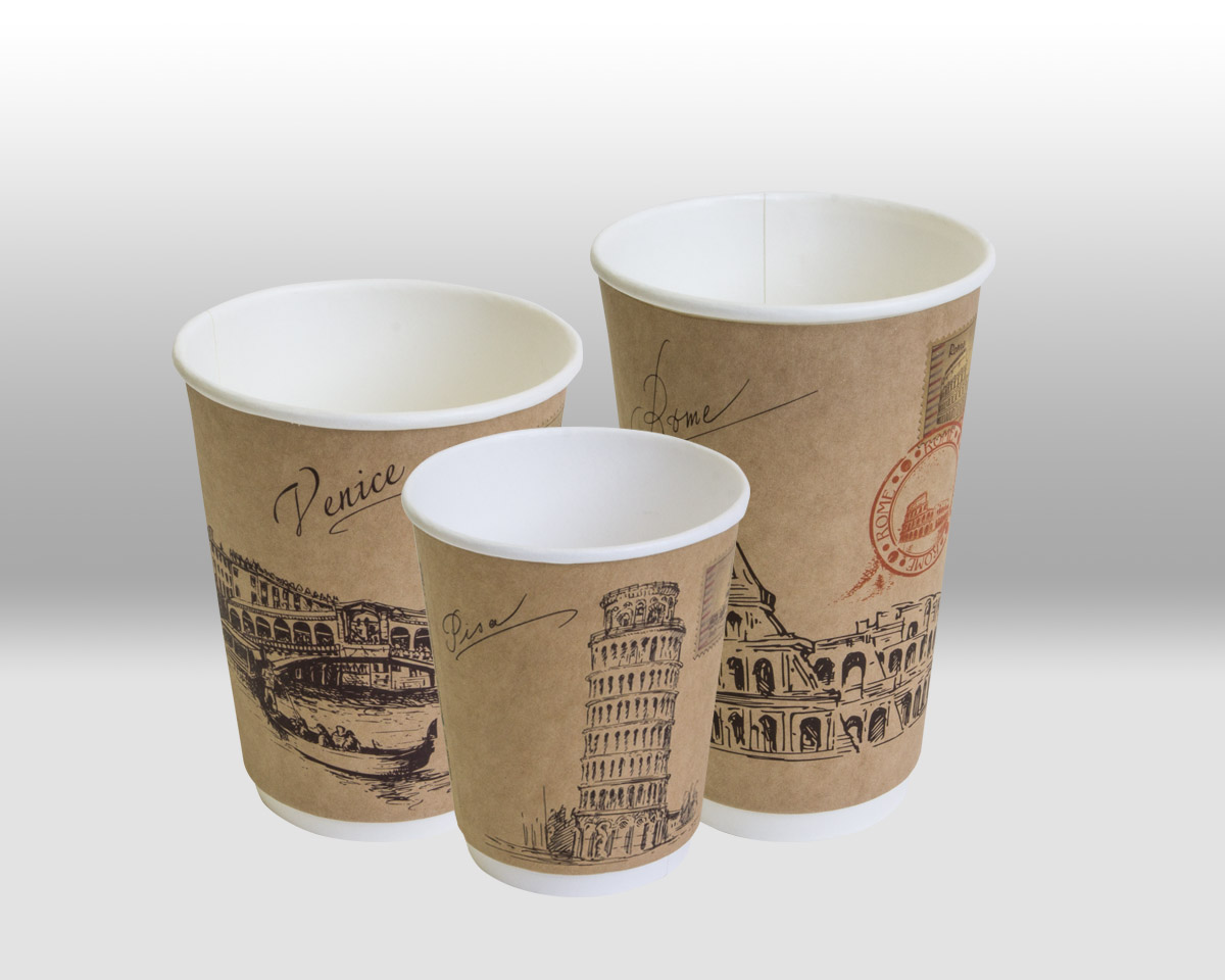 Paper Cups for hot Beverages  by Papperskopp
