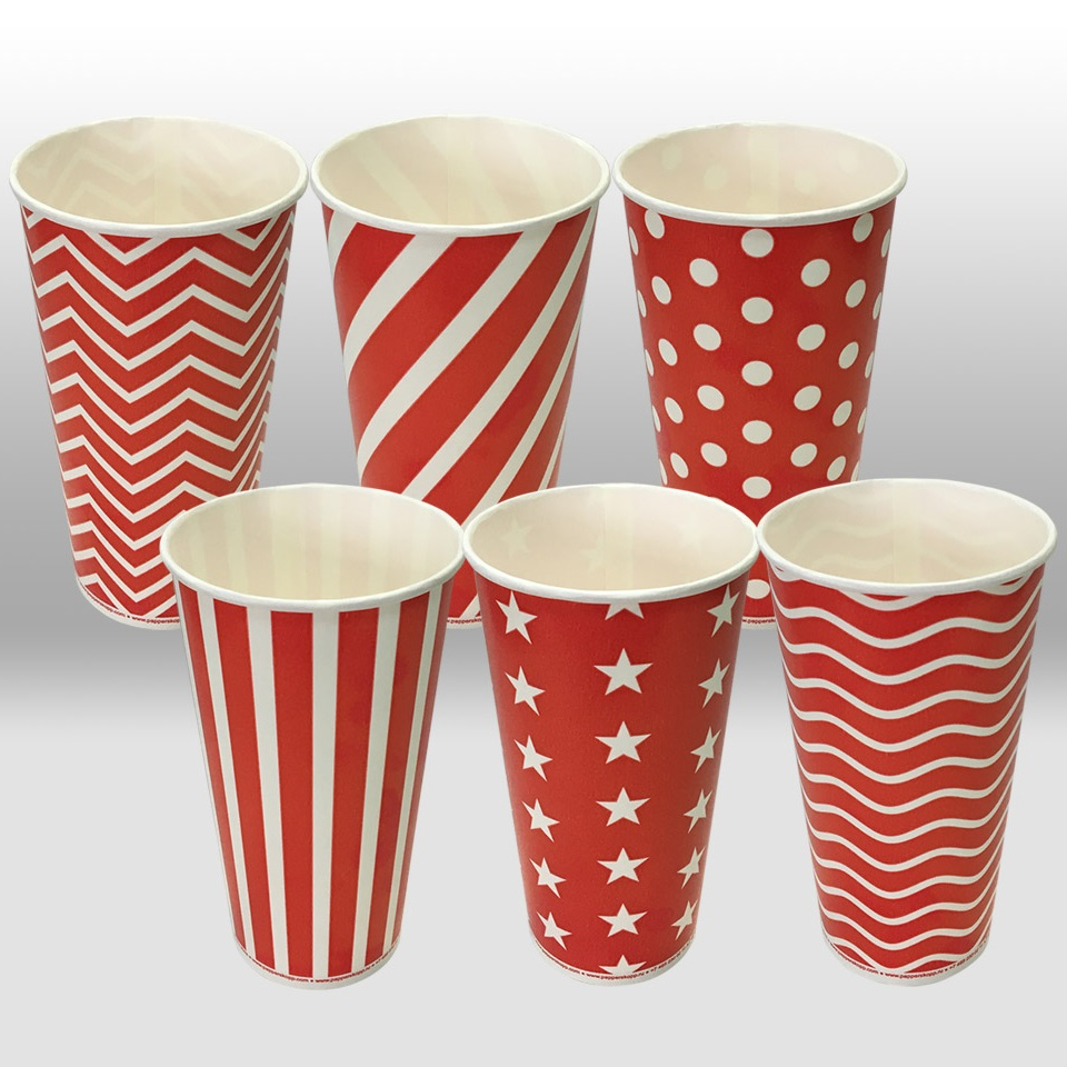Paper Cups for cold Beverages LolliPop by Papperskopp