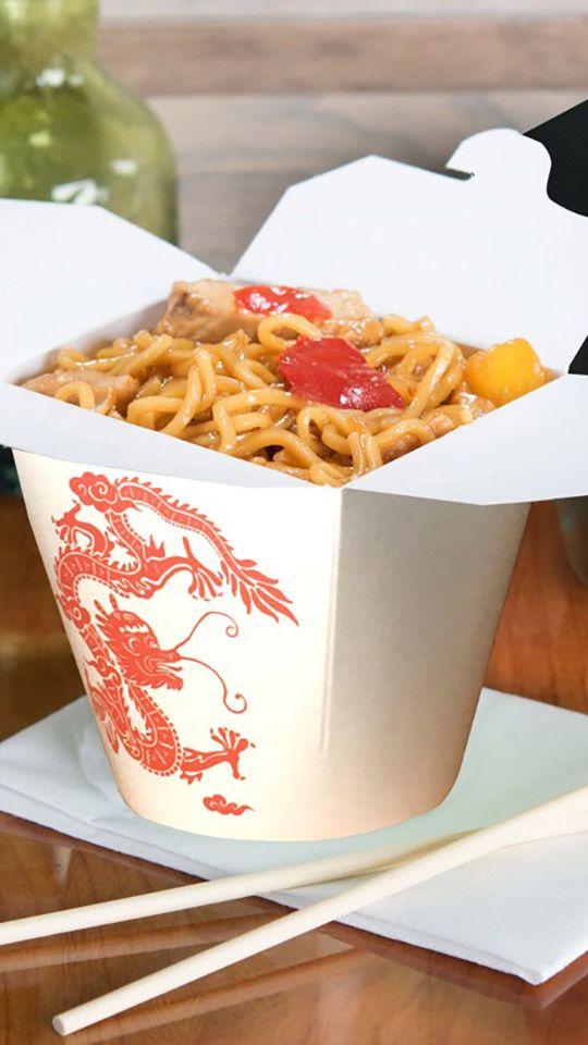 Noodle boxes Papperskopp Rus