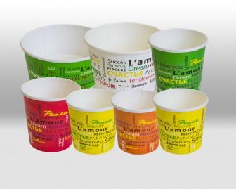 Бумажные контейнеры в дизайне Fiesta Papperskopp