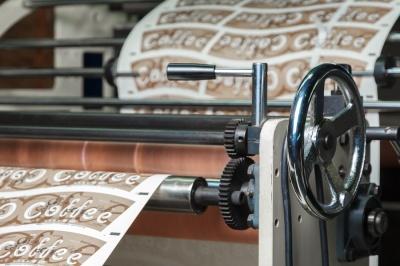 Печать для бумажных стаканов Паперскоп Рус