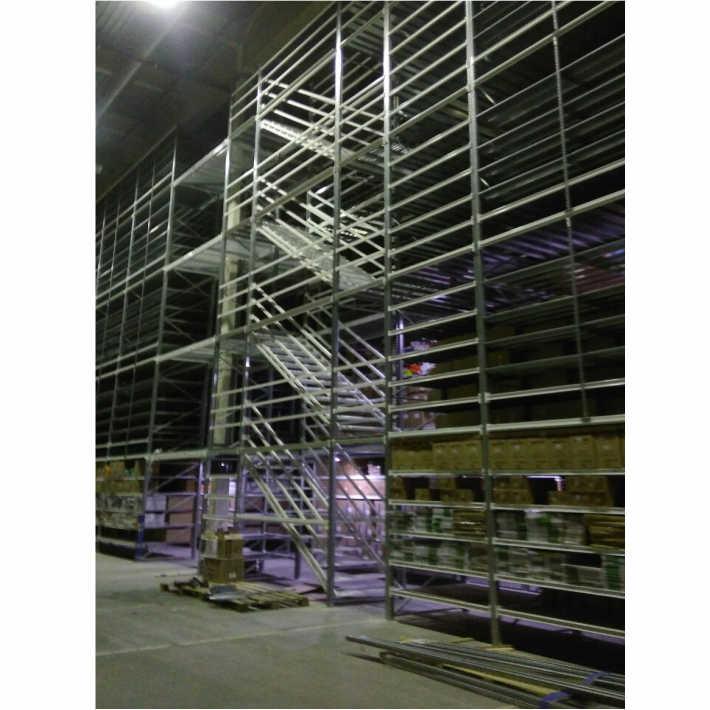 монтаж стеллажей компания ООО Сервис для склада