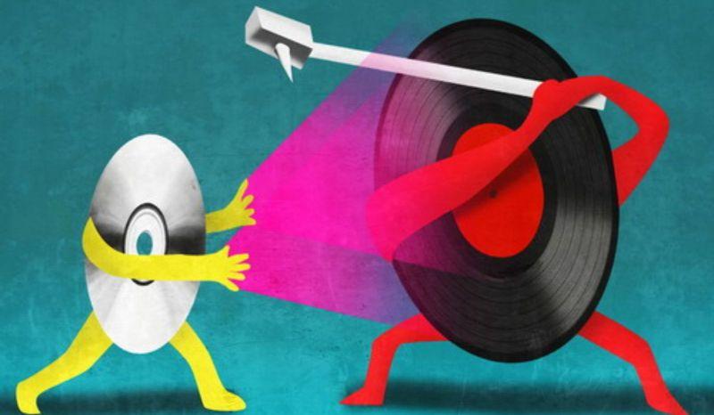"""""""CD"""" vs. """"Винил"""" - что выбрать"""
