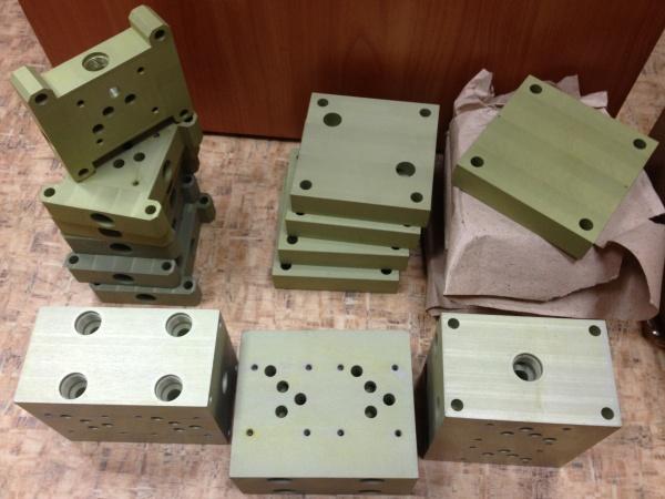 Блоки для гидрораспределителей