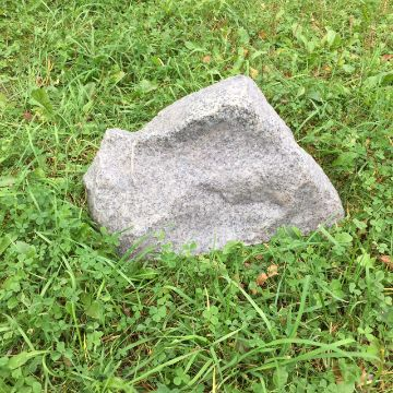 Taidekivi 30 cm harmaa graniitti