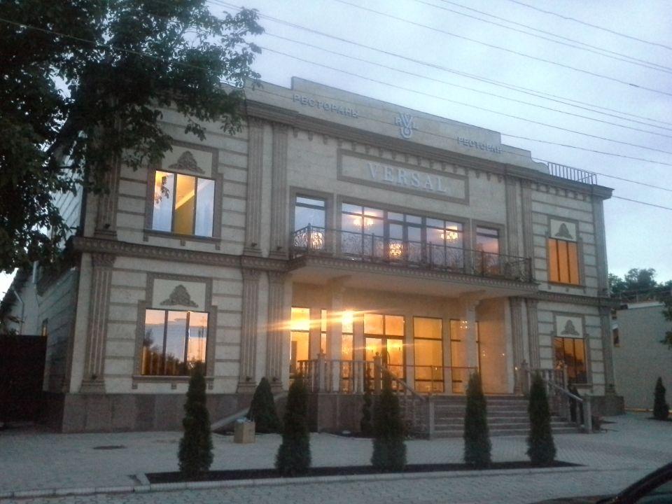 Строительство каркасных ресторанов. Версаль. Бишкек.